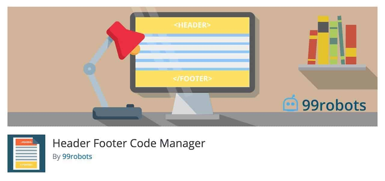 header footer code management wordpress plugin