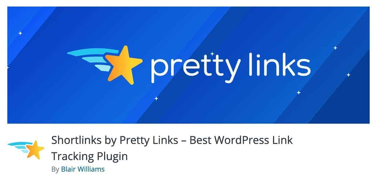 shortlinks by pretty links wordpress plugin