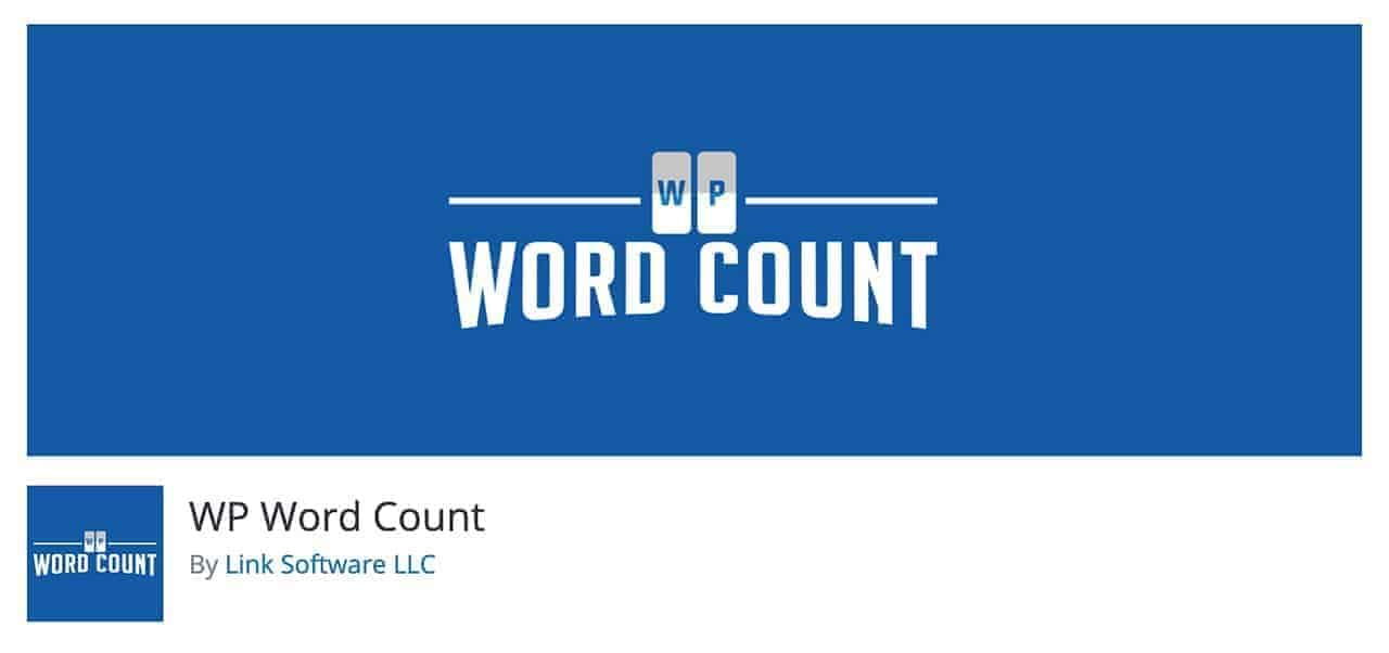 wp word count wordpress plugin