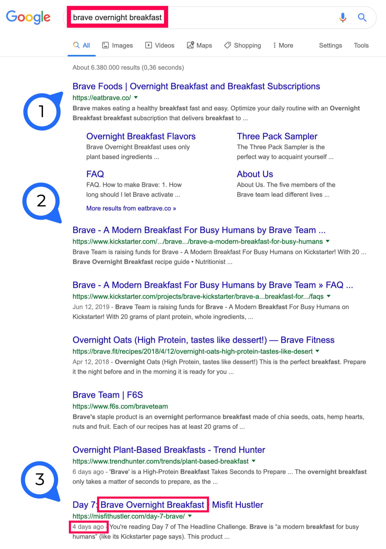 fast google ranking 4 days
