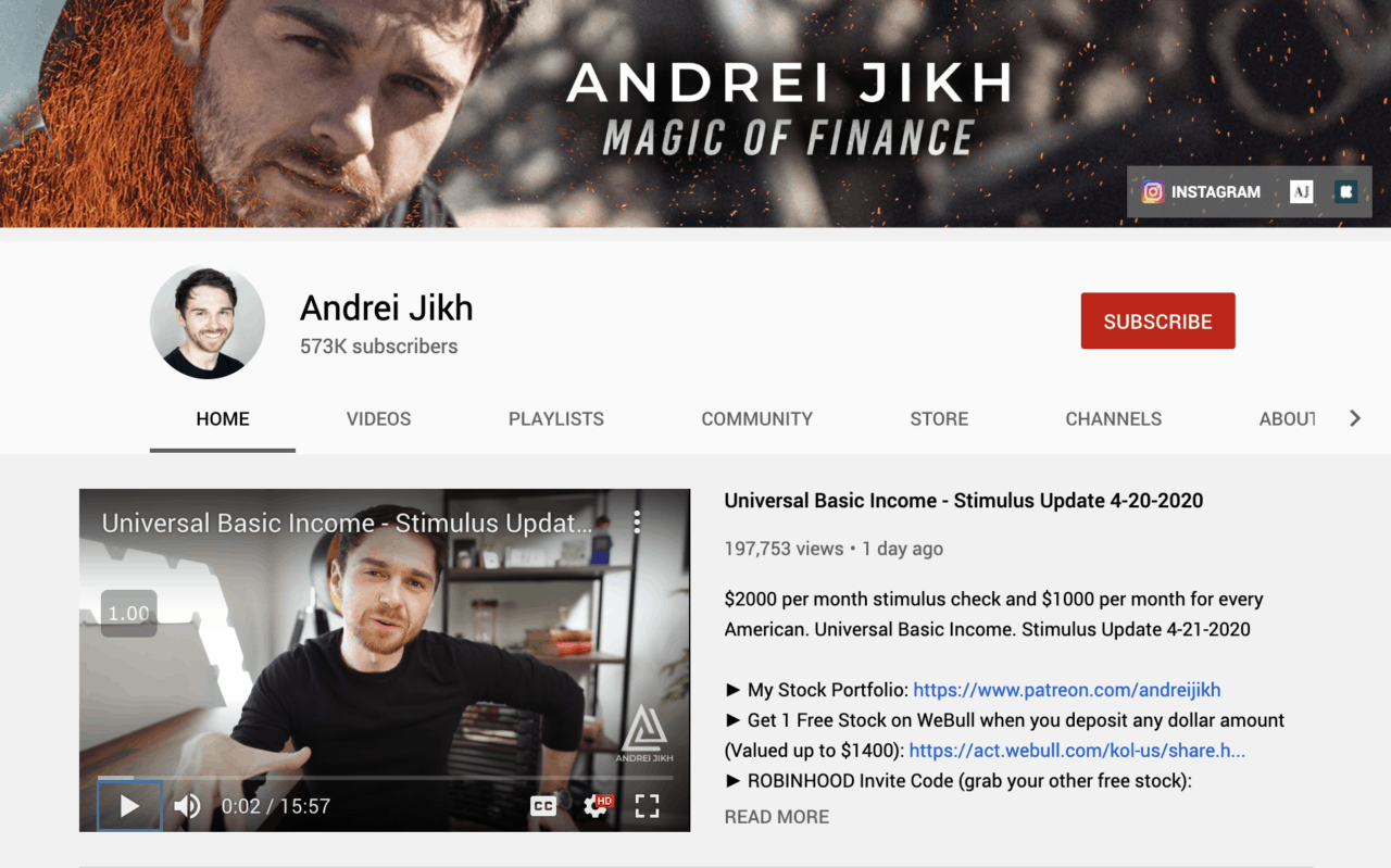 how to get more views on youtube andrei jikh