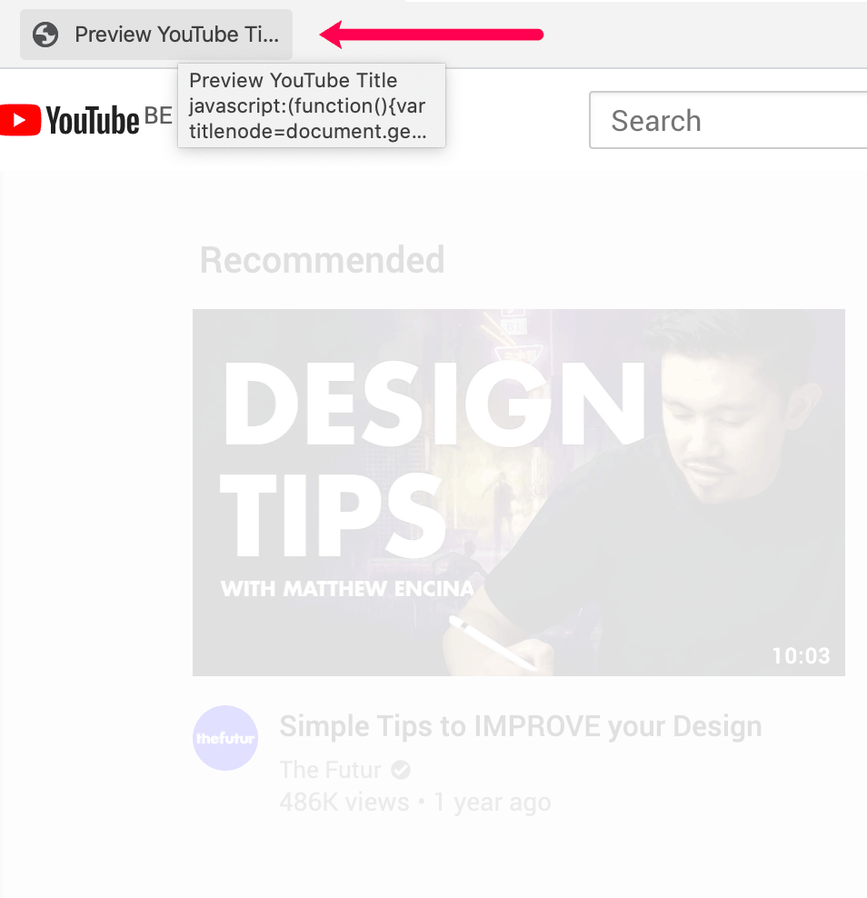 how to get more views on youtube preview bookmarklet 3